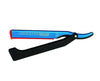 Dovo Shavette, Blue With Black Handle, Straight Razors