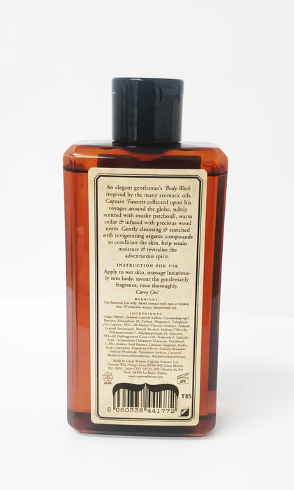 Captain Fawcett's Body Wash (250ml/8.45oz)