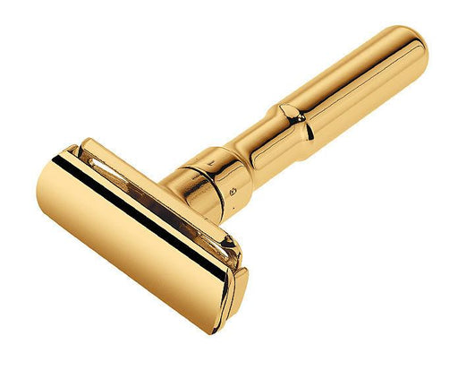 Merkur Futur Gold Adjustable Double Edge Safety Razor Safety Razor With Snap Closure, Double Edge Safety Razors