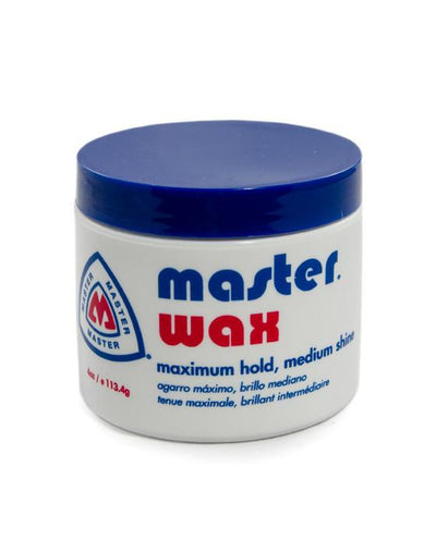 Master Well Comb Wax, Maximum Hold - 4 oz / 113.4 grams