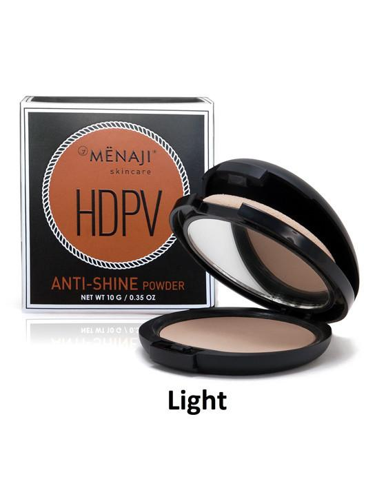 Menaji HDPV Anti-Shine Powder, Light, Men's Skincare