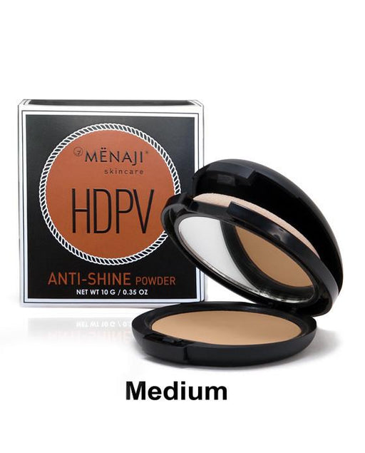 Menaji HDPV Anti-Shine Powder, Medium, Men's Skincare