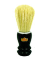 Omega Chrome Rimmed, Black Handled Boar Hair Professional Shaving Brush