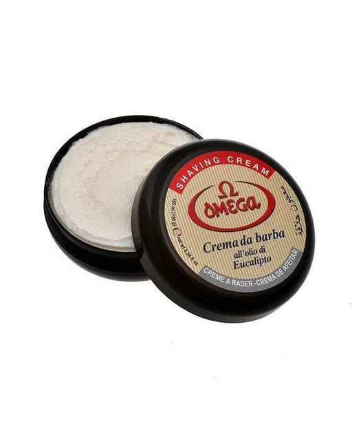 Omega Eucalyptus Shaving Cream in Bowl (150ml/5.2oz), Shave Creams