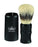 Omega Sterilized Pure Bristles Shaving Brush, Plastic Handle, Shaving Brushes
