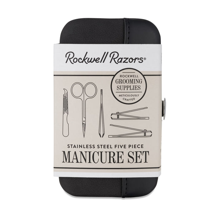 Rockwell Razors Beard Bib and Manicure set Display Bundle