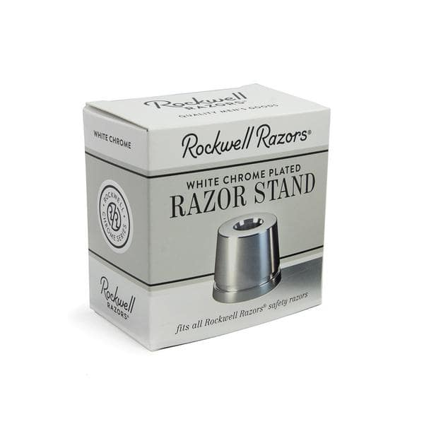 Rockwell Razors Stand White Chrome