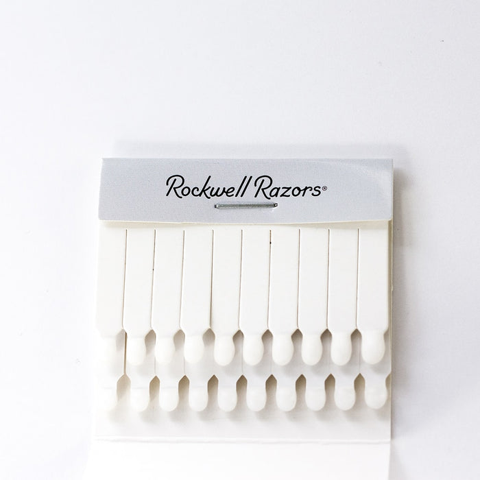 Rockwell Razors Alum Sticks 24-Pack Retail Bowl, Nicks & Cuts
