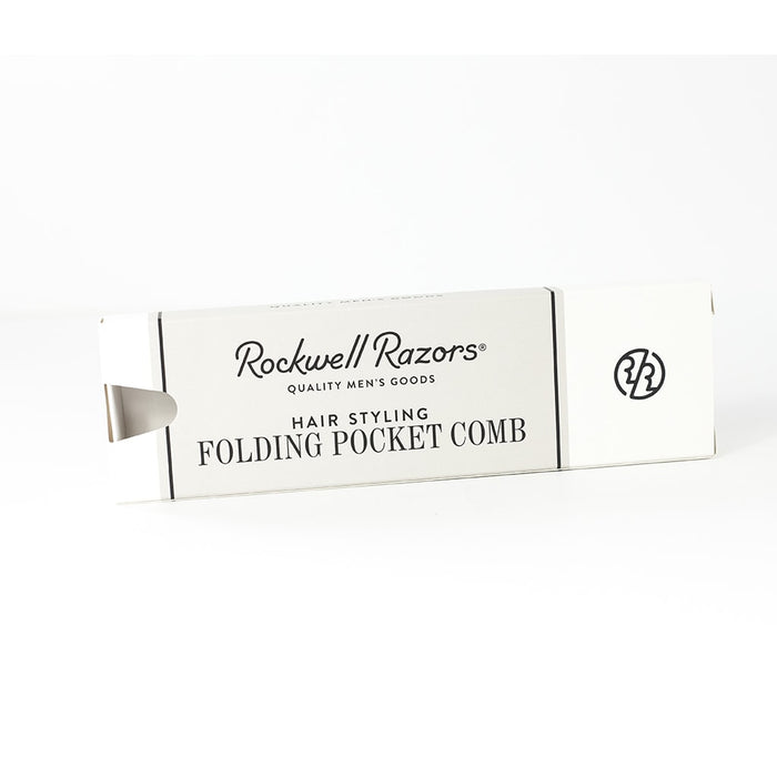 Rockwell Razors Hair Styling Folding Pocket Comb, Hair Comb