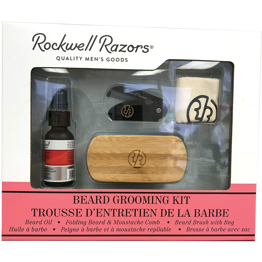 Rockwell Razors Beard Grooming Kit, Beard Care