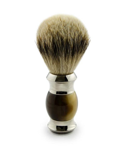 Rockwell Razors Three-Piece Shave Set Faux Horn