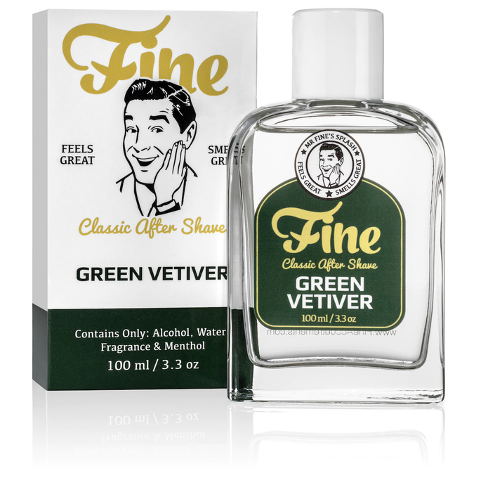 Fine Accoutrements Green Vetiver Classic Aftershave
