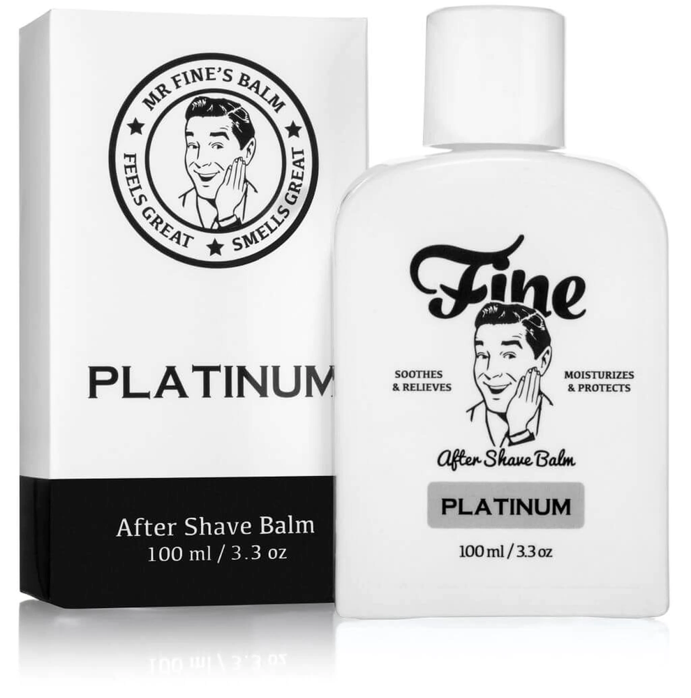 Fine Accoutrements Platinum After Shave Balm