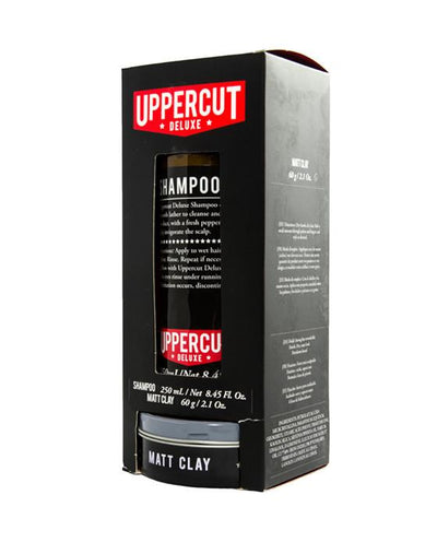 Uppercut Deluxe Shampoo & Matt Clay