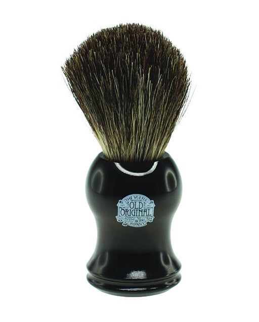 Progress Vulfix Pure Badger Shaving Brush, Black Handle, Shaving Brushes
