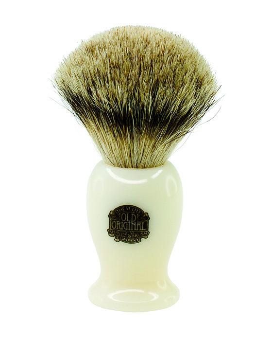 Progress Vulfix Super Badger Shaving Brush, Medium Cream Handle, Shaving Brushes