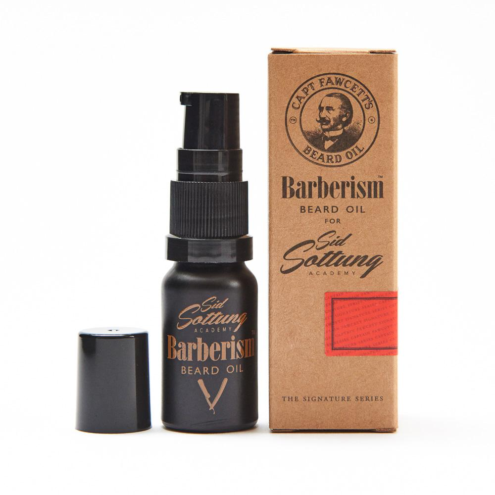 Captain Fawcett's Barberism Beard Oil - Travel Size (10ml/0.33oz), Beard Oils