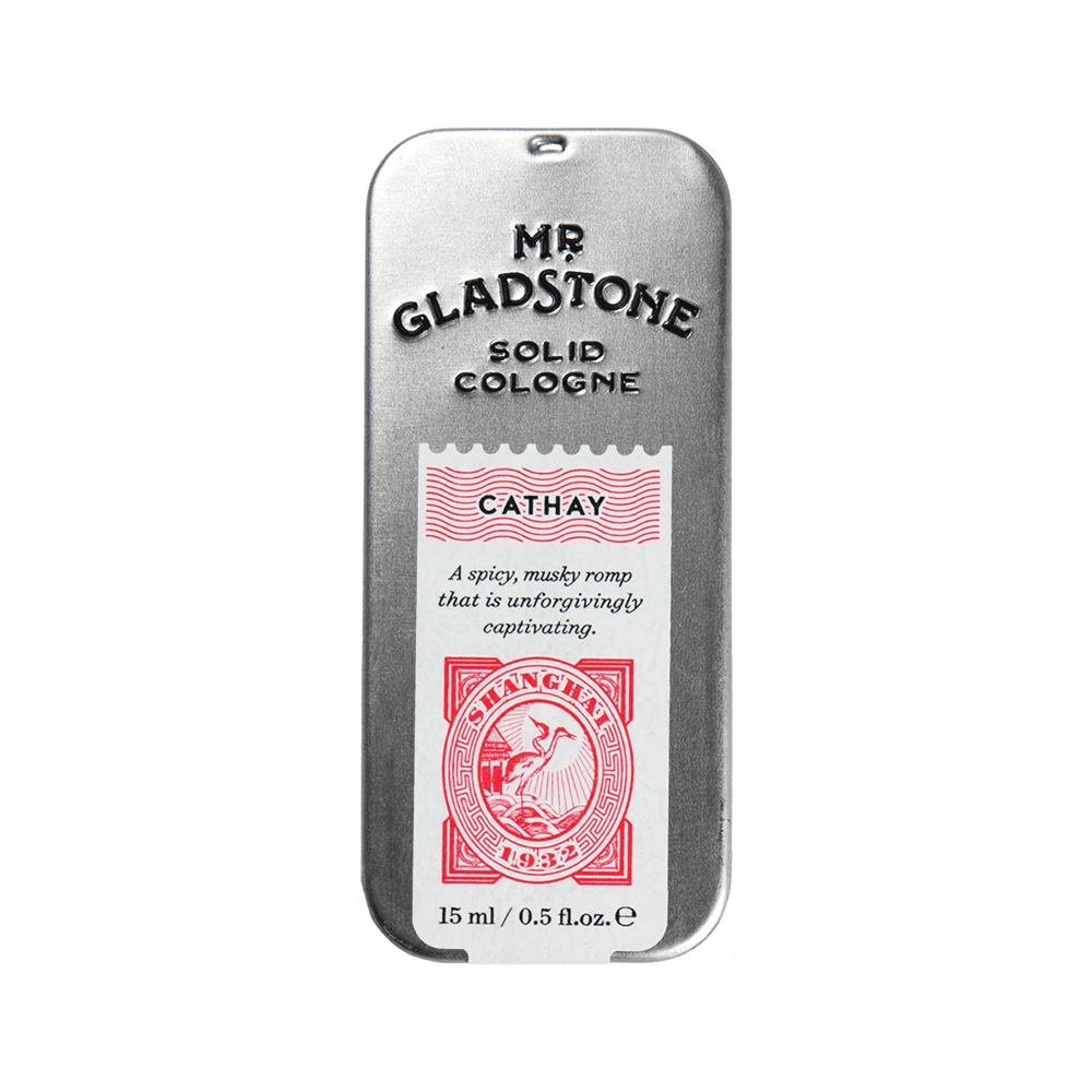 Mr. Gladstone Cathay Solid Cologne - Fine Fragrance Reminiscent of 1932 Shanghai, Solid Cologne