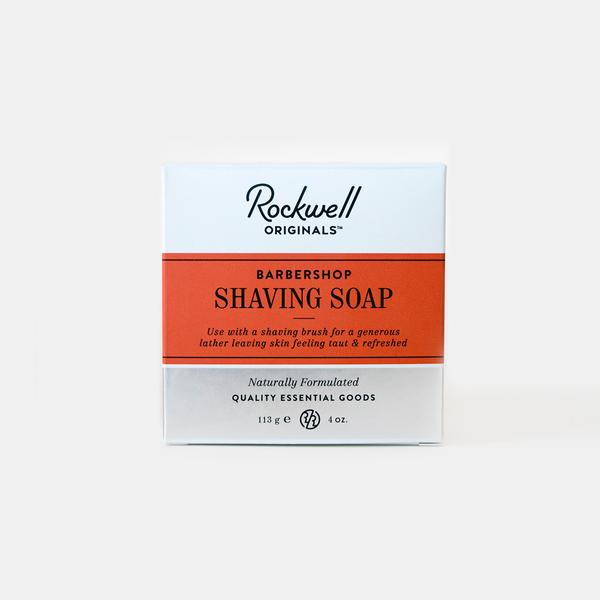 Rockwell Shave Soap Refill - Barbershop Scent, Shaving Soap