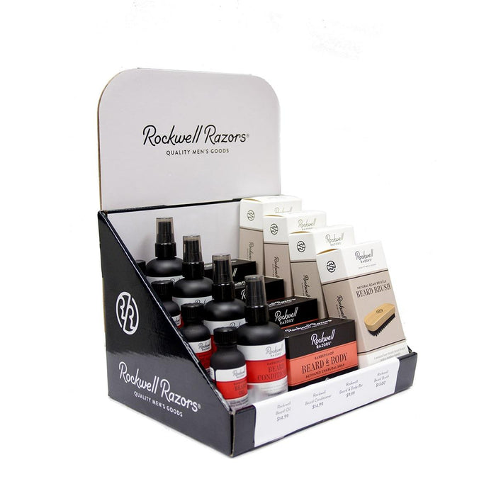 Rockwell Beard Collection Retail Display Bundle (New)