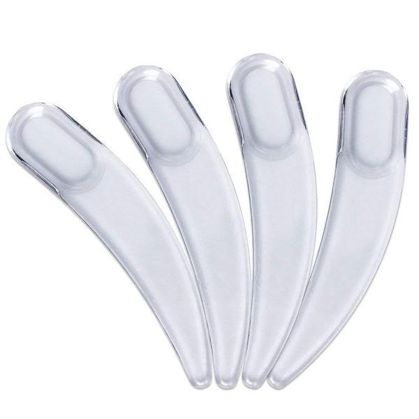 Disposable Polystyrene Boomerang Spatula, Clear 2.4 inch (50pcs/Bag),