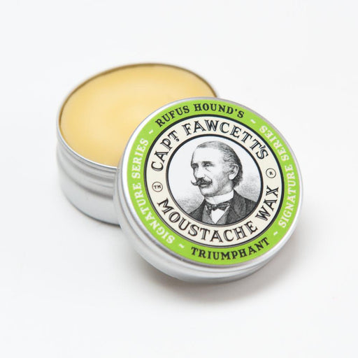 Captain Fawcett's Rufus Hound's Triumphant Moustache Wax - 15 ML / 0.5 FL OZ, Mustache Wax