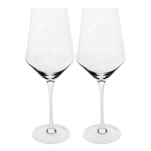 White Wine Glass Pair