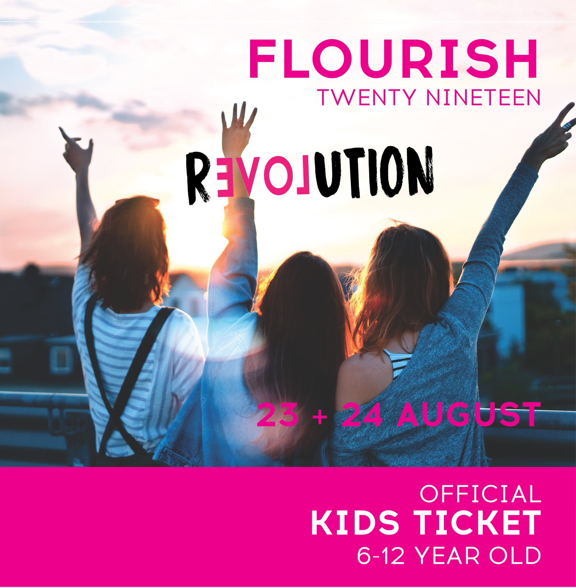 Flourish Kids Programme | Ages 6-12 Years