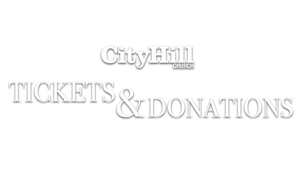 CityHill Church Events & Donations