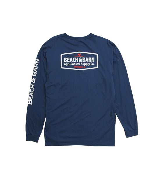 Agri-Coastal™ Pocket Tee Long Sleeve
