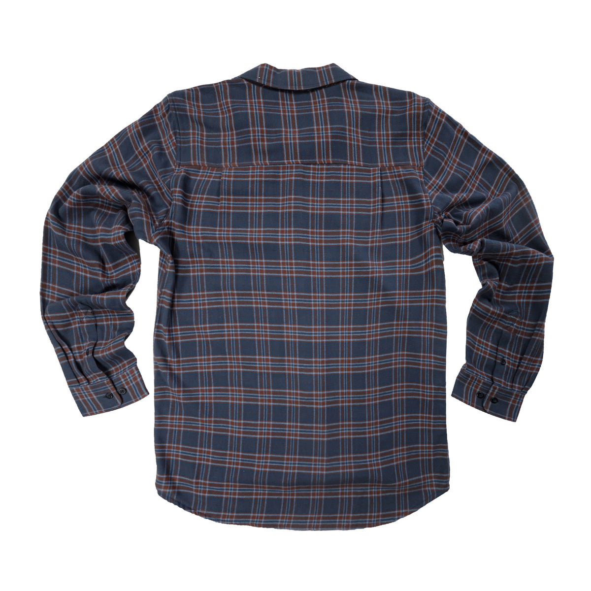 Masonboro Flannel - Wine Plaid
