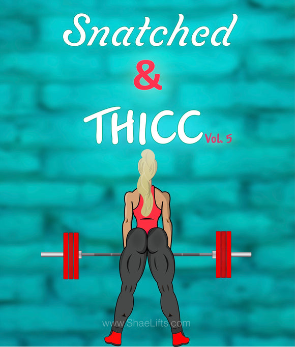 Snatched & Thicc Vol. 5 + 1 on 1 Support