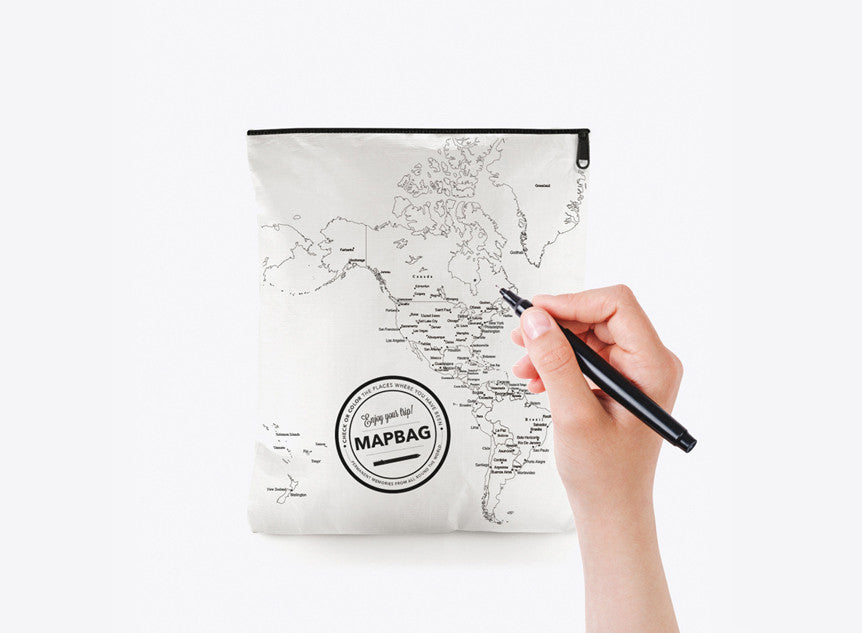 Neceser Mapamundi | Worldmap Washbag