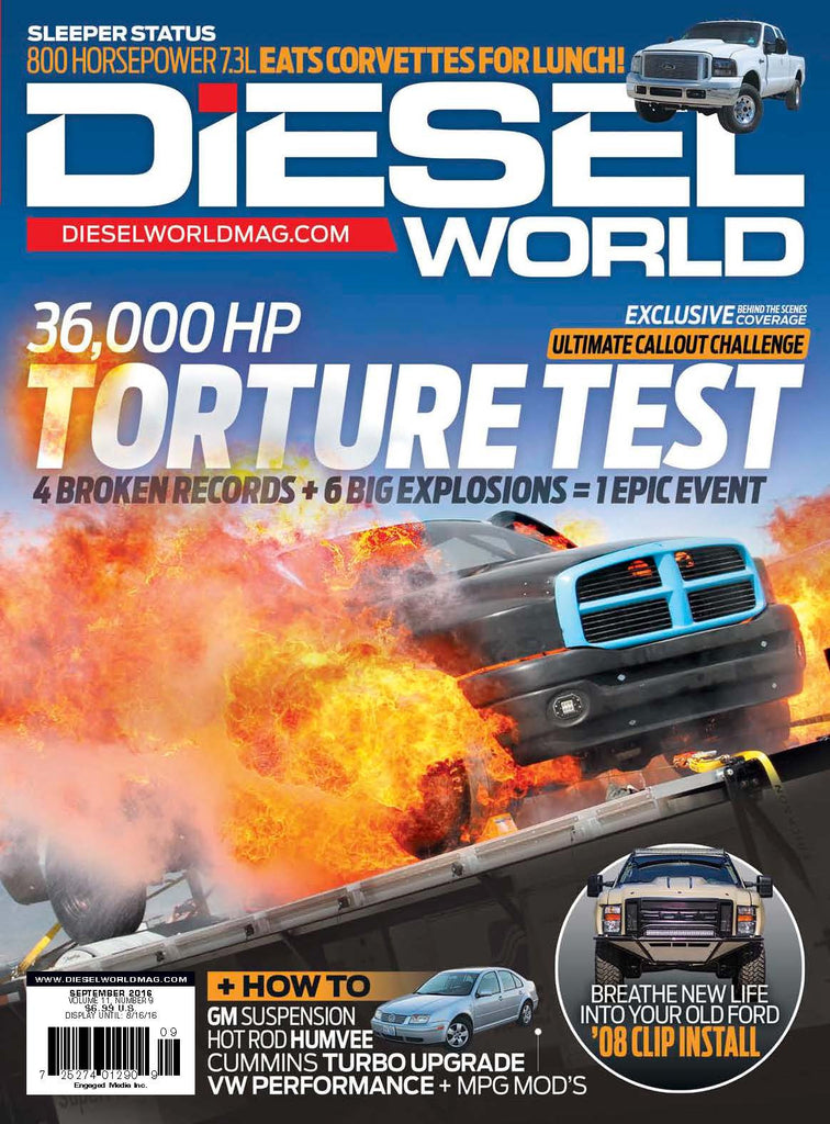 McNeil Racing Featured In Diesel World Magazine