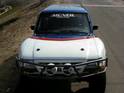 83-92 Ford Ranger To 00' Ranger Conversion Off Road Fiberglass Hood - McNeil Racing Inc
