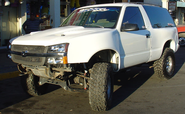 92 00 Chevy Tahoe To 06 Silverado Off Road Fiberglass