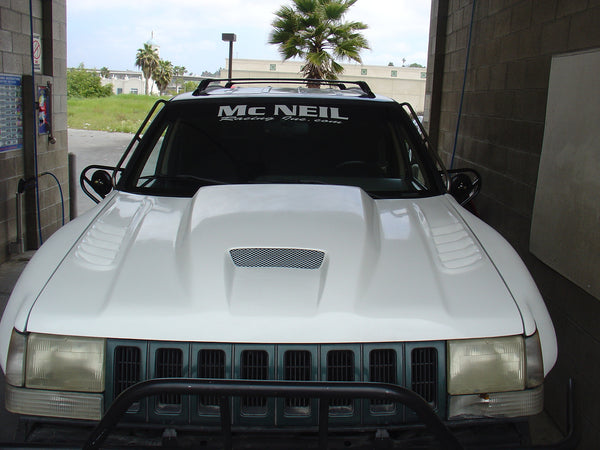 93 98 Jeep Grand Cherokee Zj Off Road Fiberglass Hood