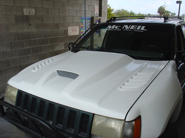 87 Toyota Pickup >> 93-98 Jeep Grand Cherokee (ZJ) Off Road Fiberglass Hood ...