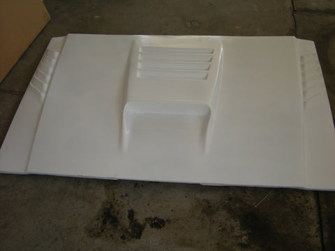 85-92 Jeep Comanche Off Road Fiberglass Hood - McNeil Racing Inc