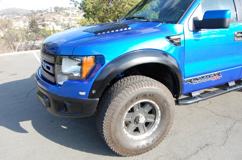 10-14 Ford Raptor Oem Style Off Road Fiberglass Fenders - McNeil Racing Inc