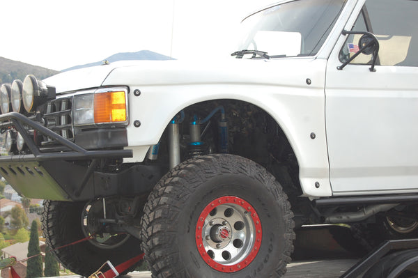 87 91 Ford Bronco 3 Quot Flare Off Road Fiberglass Fenders