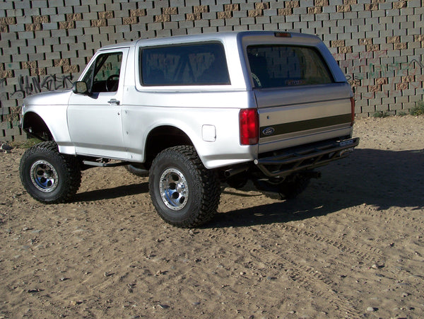 Ford Bronco Inch Fiberglass Bedsides Grande on 1995 Jeep Cherokee Rear End