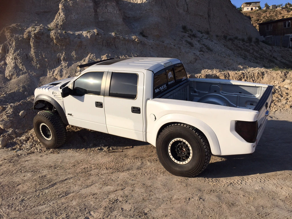10-14 Ford Raptor TT Style Off Road Fiberglass Bedsides - 5.5 Bed - McNeil Racing Inc
