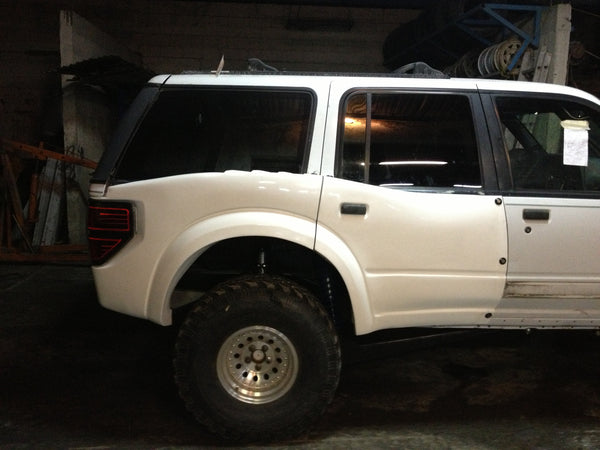 "Ford Raptor Bronco >> 91-97 Ford Explorer 4 Door To Raptor 6"" Bulge Off Road ..."