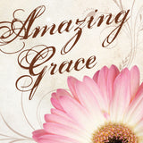 Amazing Grace, Square Standout Plaque - Restful Home