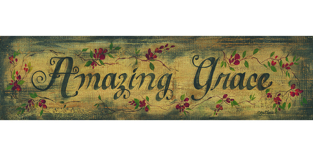 Plaque: Amazing Grace