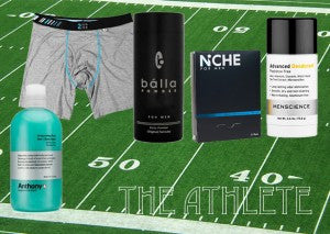"MenEssentials Grooming Guide: ""The Athlete"""