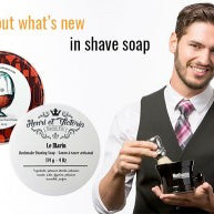 New In Shave Soap: Barrister & Mann and Henri et Victoria