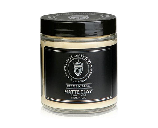 Crown Shaving Matte Styling Clay - 4 Ounce Jar