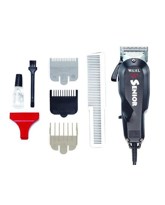 Very robust V5000 micro-motor performs quietly while remaining cool at all times. Barber-friendly lever allows you to switch from taper, fade, and texture with the flick of a thumb. High precision adjustable blades.